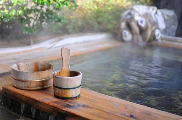 Onsen (traditional bath house)