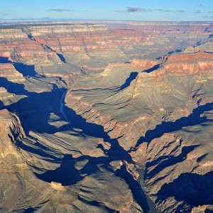 helicopter over grand canyon