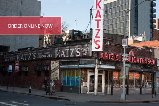 Lunch at Katz Deli