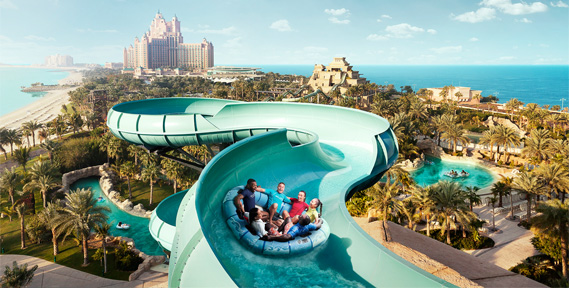Entry Tickets to Aquaventure Water Park at Atlantis the Palm