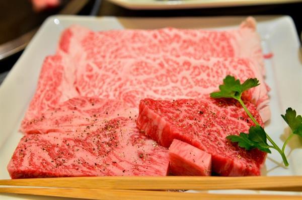 Kobe beef dinner
