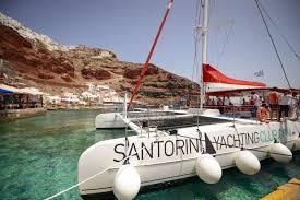Sailing Trip Around Santorini