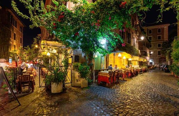 Dinner & Drinks in Trastevere