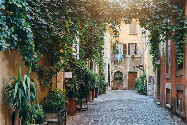 Night in an apartment in the heart of Trastevere