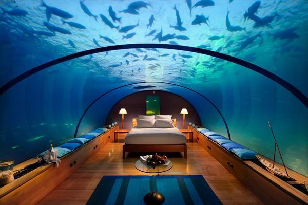 Underwater Hotel Elegance