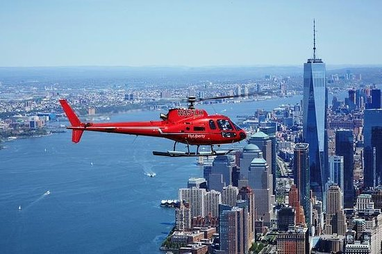 Scenic Helicopter Ride over New York for Two People