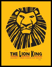 1 x Broadway Show Ticket- The Lion King