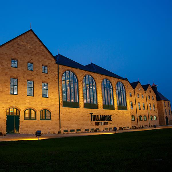 Dinner and Tour at Tullamore D.E.W Distillery