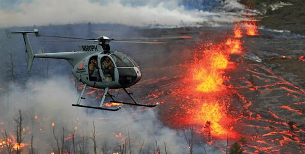 Hawaii Volcanic helicopter tour