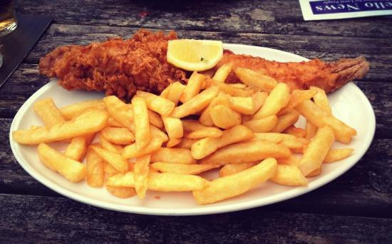 2 x Large Cod and Chips at the Pilot Inn, Dungeness
