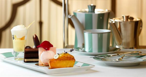 Afternoon tea at Claridges London