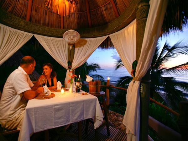Dinner at Playa Escondito