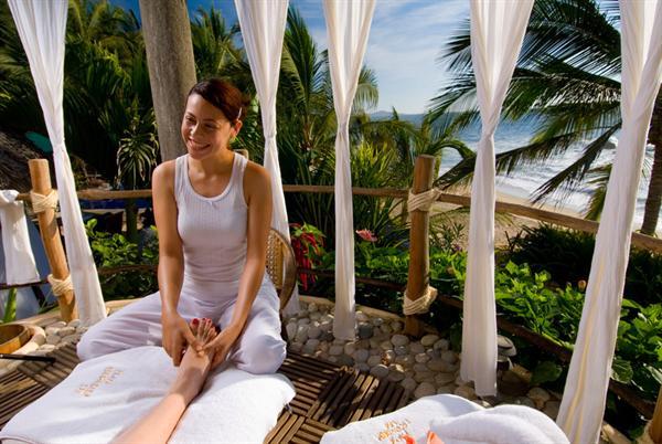 Massage at The Playa Escondito Spa