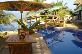 Breakfast by the Pool Playa Escondito
