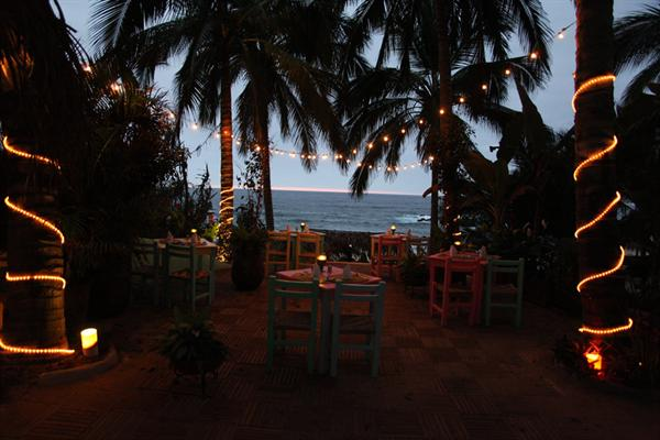 Sunset Drinks at Playa Escondito Pool Bar