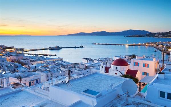 Flights to Mykonos / from Santorini