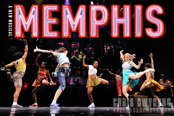 2 x Tickets to Memphis on Broadway