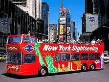 2 x tickets for Double decker bus tour of NYC