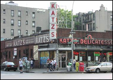 Lunch for two at Katz Deli
