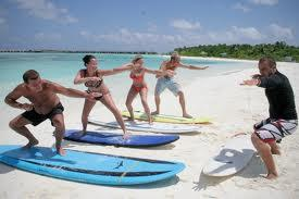 1.5 hour Couples surfing lesson - Oahu