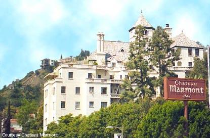 Dinner for two at the Chateau Marmont