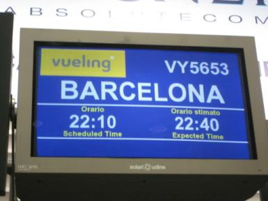 Paris to Barcelona