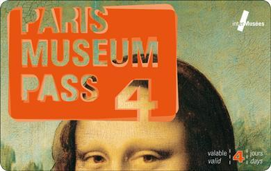 4 Day Paris Museum Pass