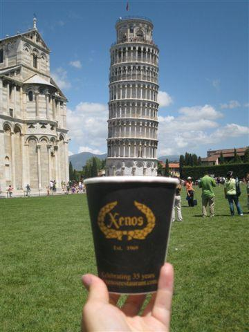 Coffee and Cake in Pisa