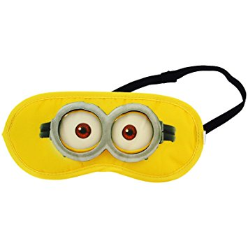 Minions travel eye mask