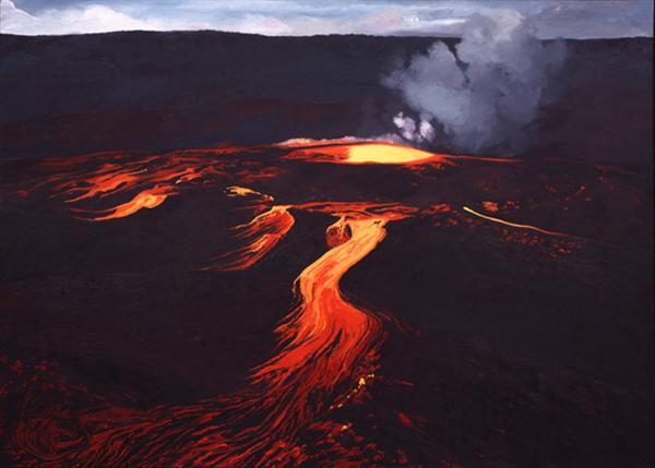 Night tour of Halemaumau Crater