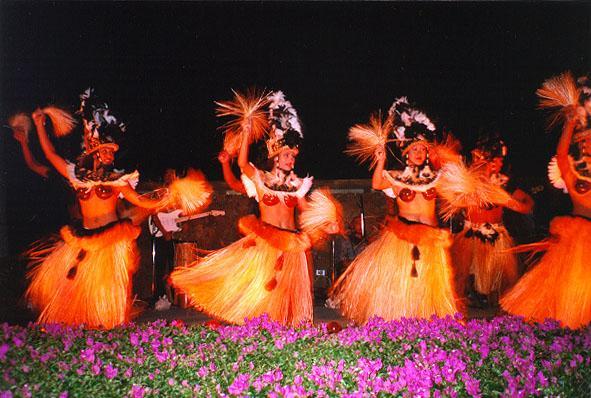 Lu au at Hilton Waikoloa Village