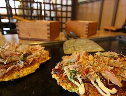 Lunch at Okonomiyaki Chibo Restaurant, Honolulu