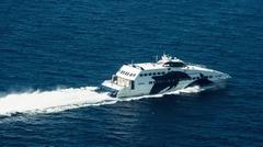 Catamaran to Paros