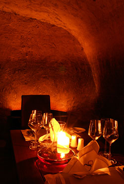 Private Candlelit Dinner at the Secret Wine Cave