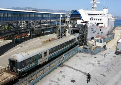 Train Ferry from Messina to Reggio Calabria