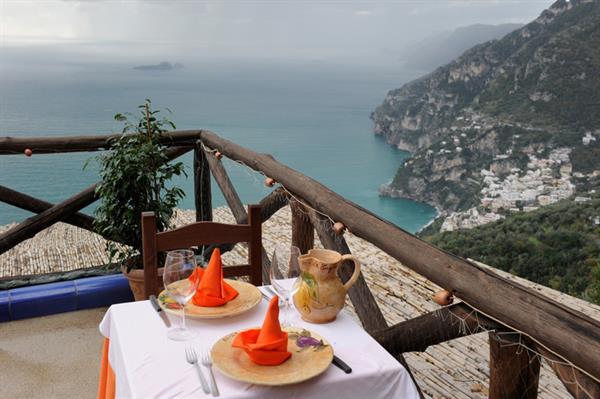 Dinner at La Tagliata Restaurant Positano