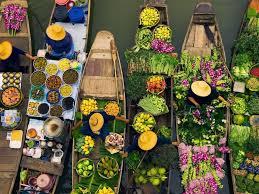 Floating Markets of Damnoen Saduak