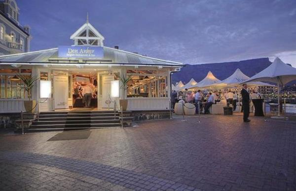 Dinner on the V&A Waterfront at Den Anker