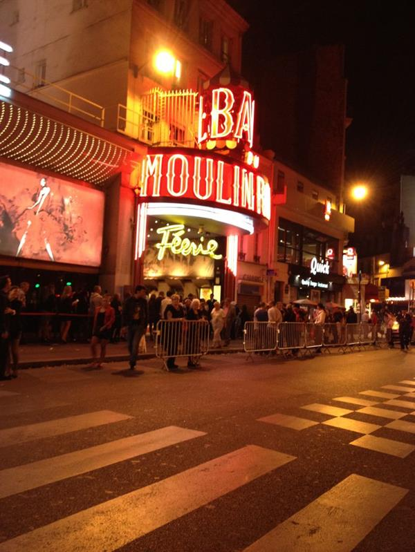 Dinner and Show at the Moulin Rouge