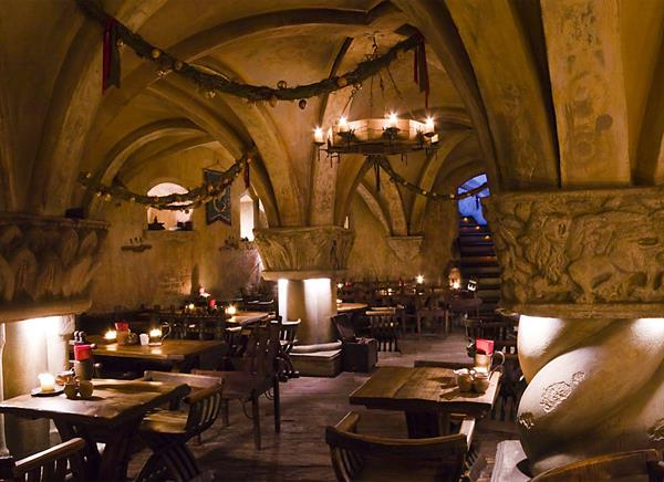 Dinner in Riga