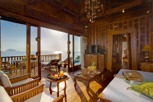 Accomodation at Santhiya Resort, Koh Yao Yai