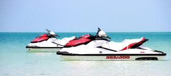 A day cruise around the Island on jetskis