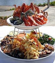 Romantic dinner in Grand Baie