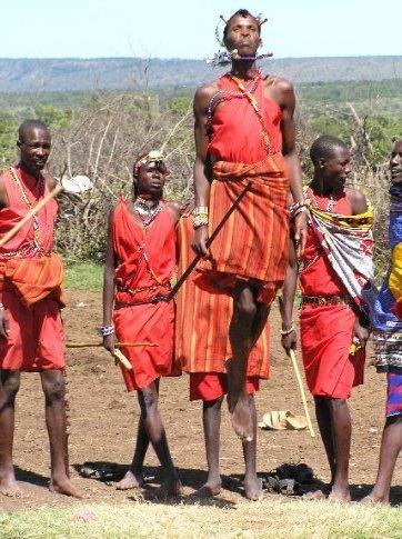 Visit to a Masai Mara village