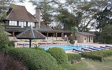 Accommodation at Lake Nakuru Lodge