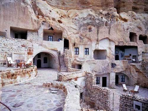 3. Cappadocia - Accommodation in an underground 'Cave' Hotel!