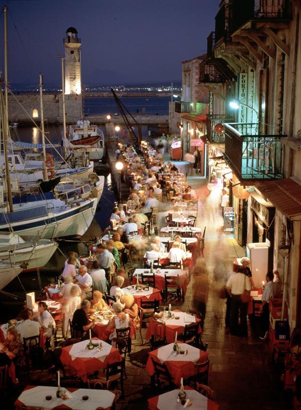 1. Crete, Rethymno - Night out