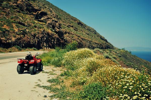 2. Santorini - Quad bike hire