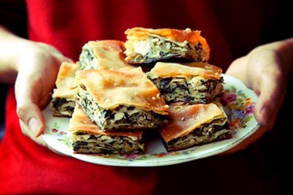 2. Santorini - Lovely lunch