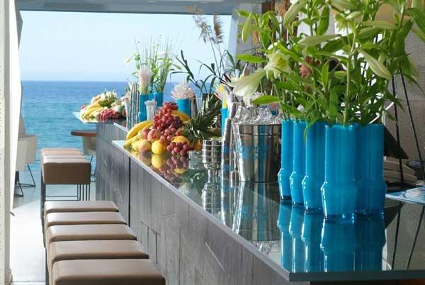 3. Mykonos - Cocktails by the beach